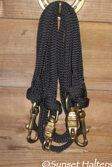 samson flat braid cross ties
