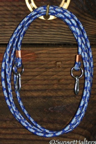 diamond braid, roping reins