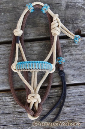 rope halter, decoration, western decor, rear view mirror, yacht braid, lead rope