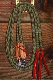 yacht braid, split reins, weaver, water ties