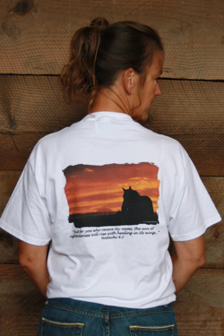Sunset Halters T shirt