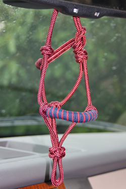 rear view mirror rope halters